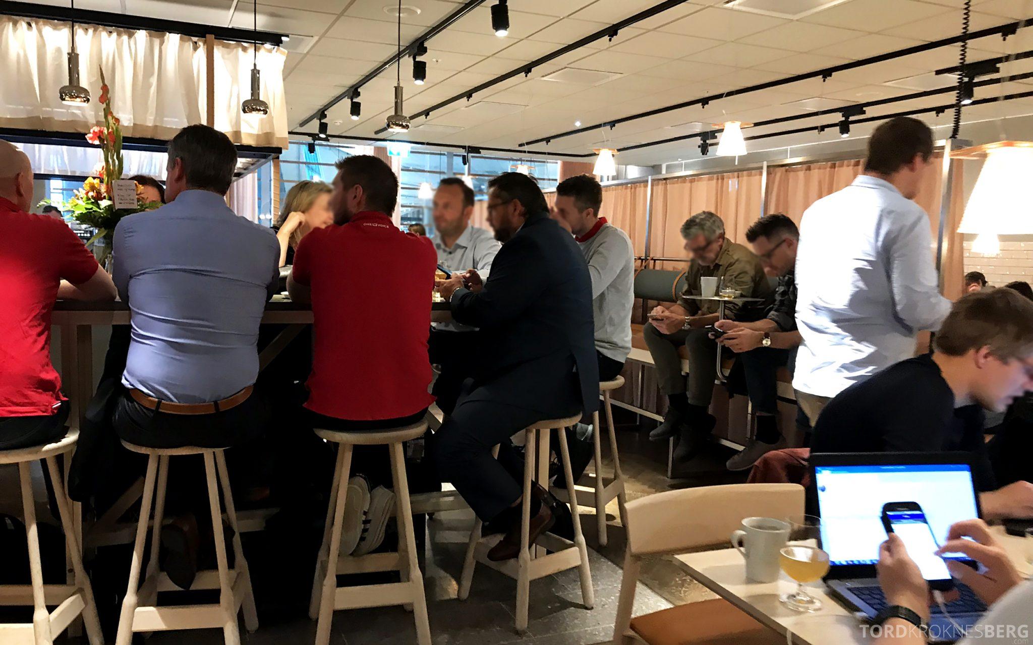 SAS Lounge Oslo Innland fullt