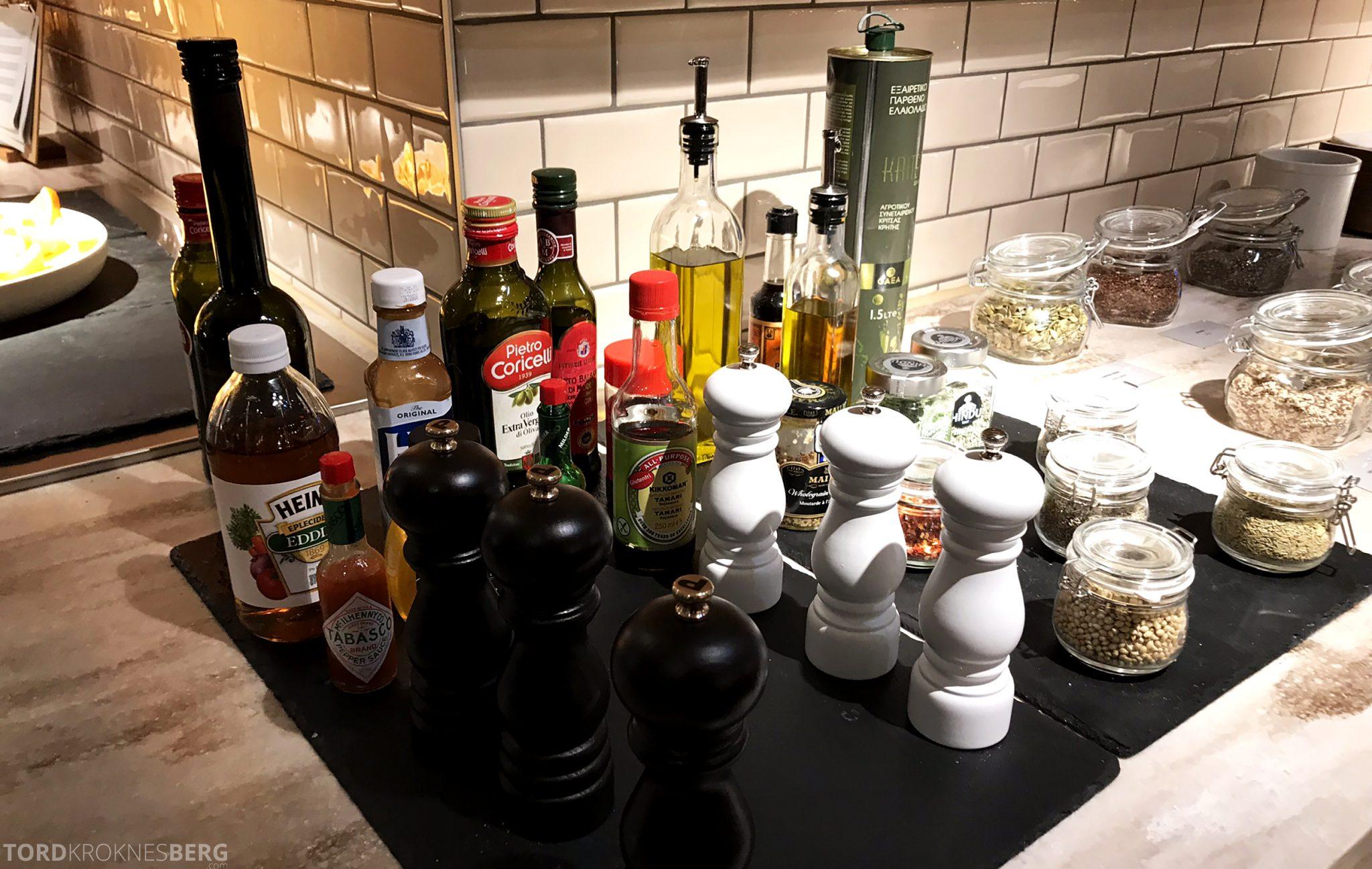 SAS Lounge Oslo Innland krydder