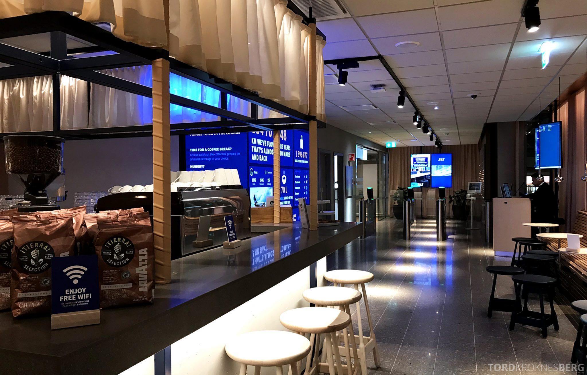 SAS Lounge Oslo Innland utsikt