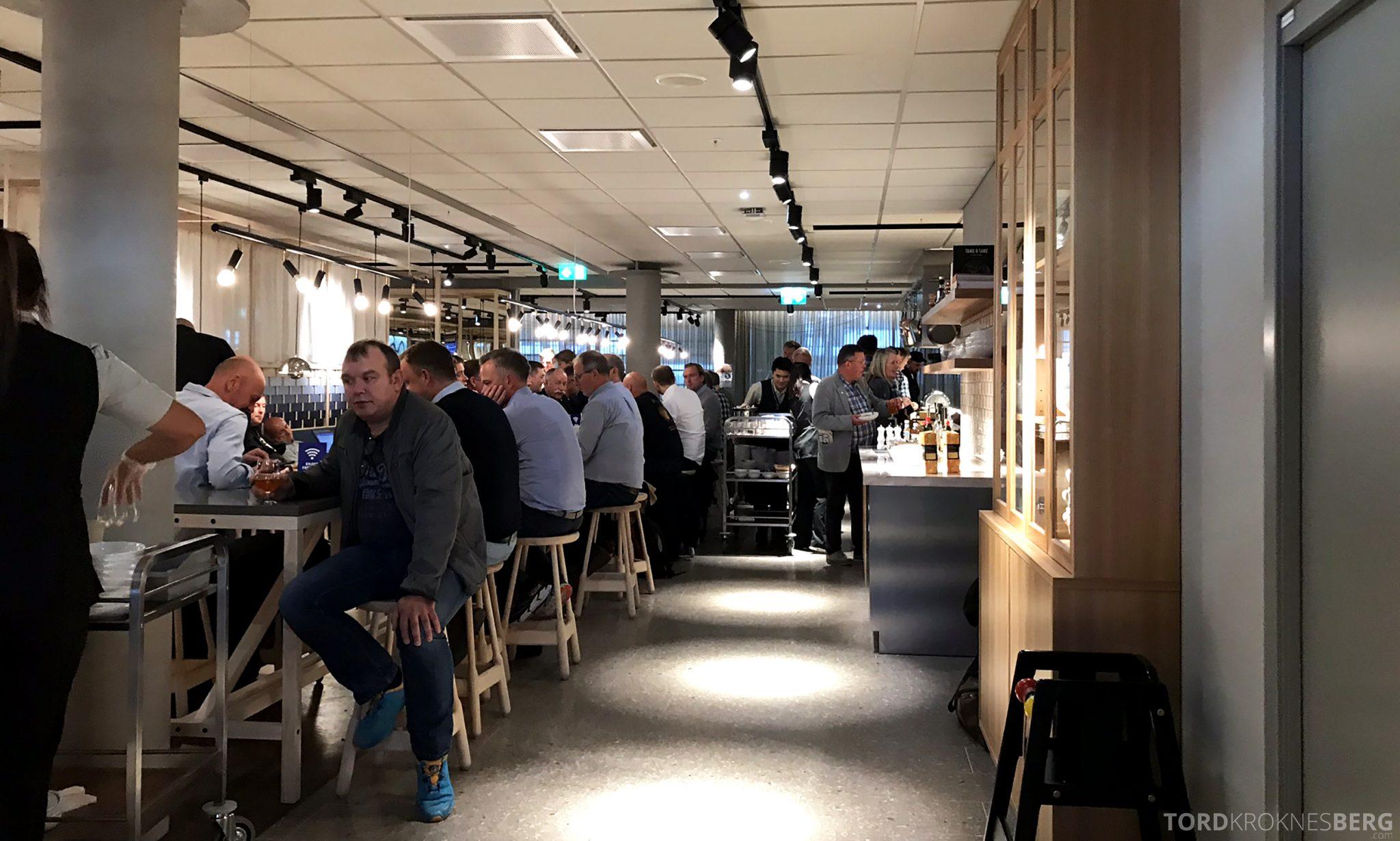SAS Lounge Oslo Innland full