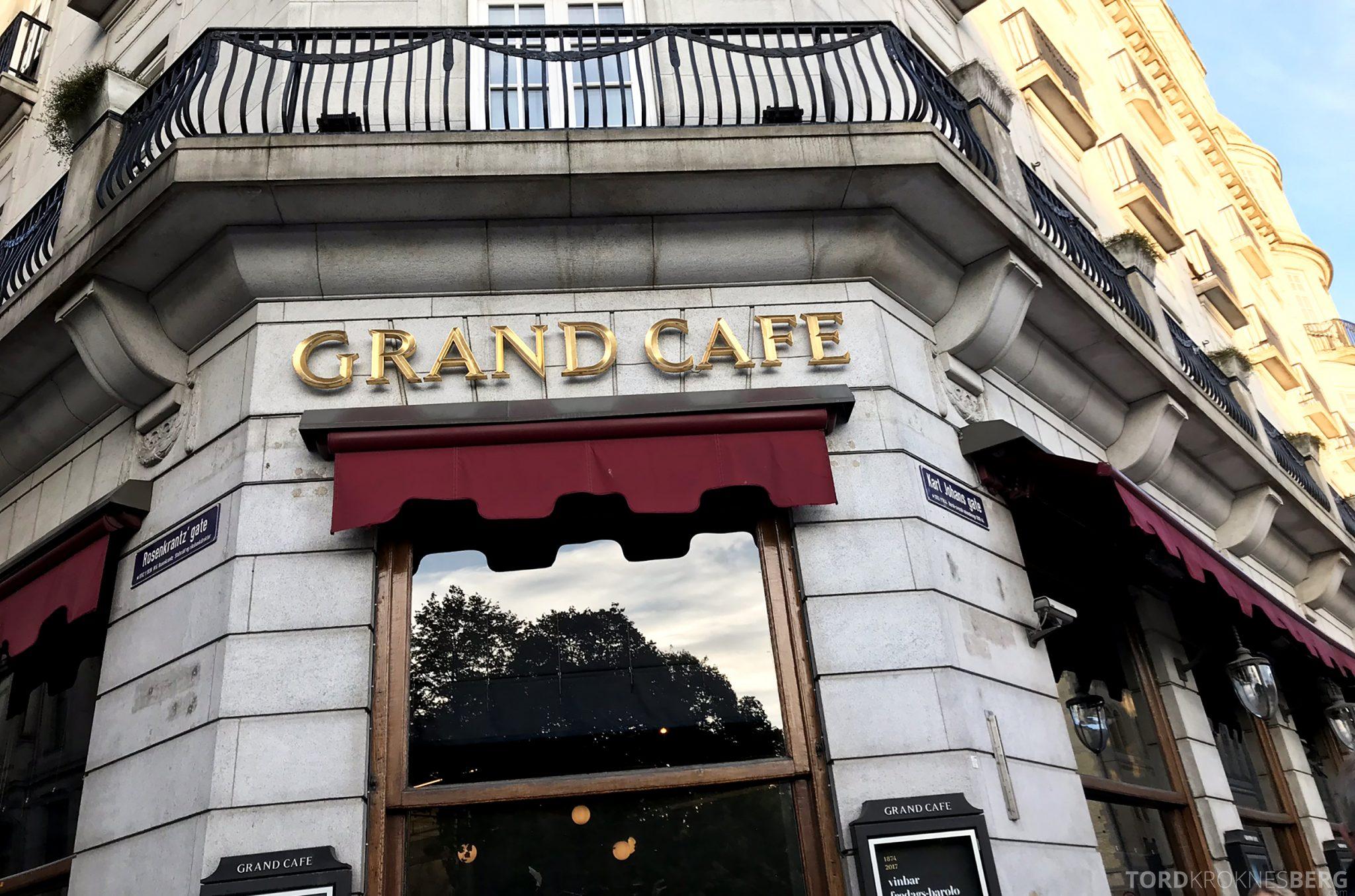 Grand Café Oslo utenfor