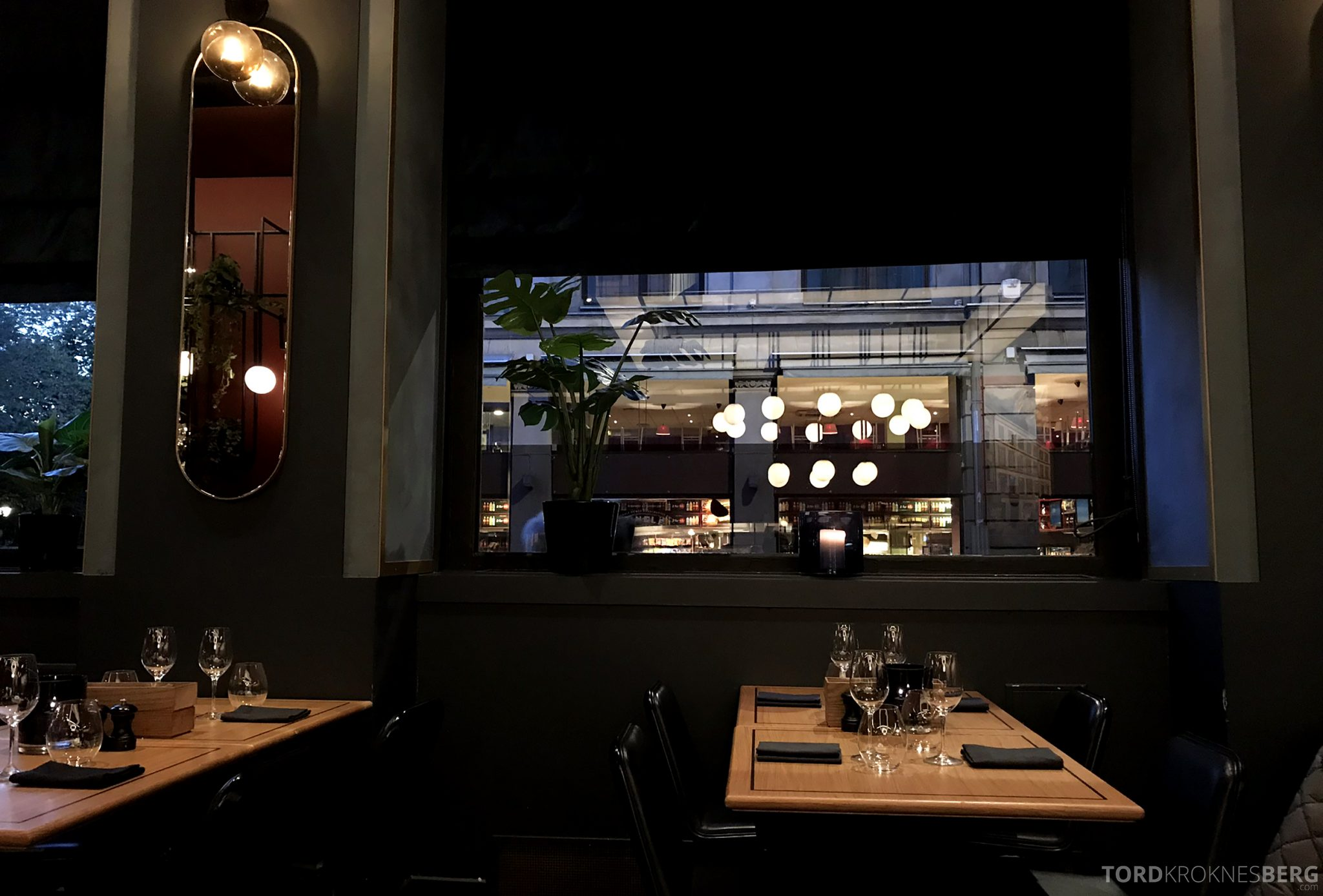 Grand Café Oslo utsikt
