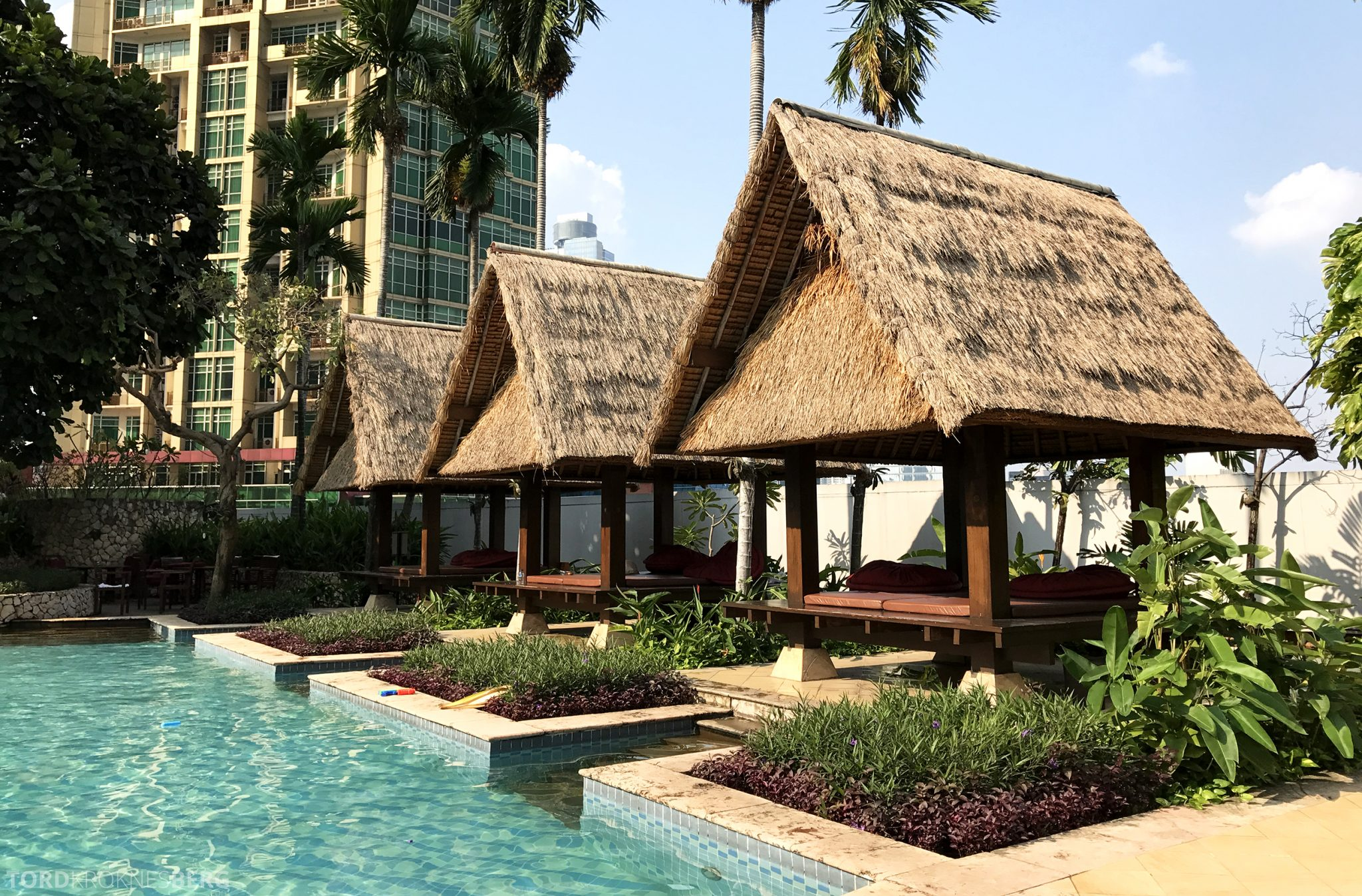 Ritz-Carlton Jakarta bassengområde