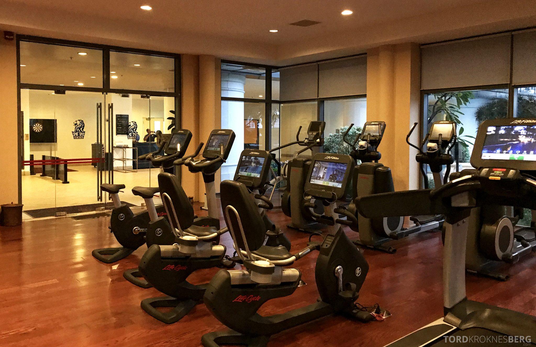 Ritz-Carlton Jakarta apparater trening