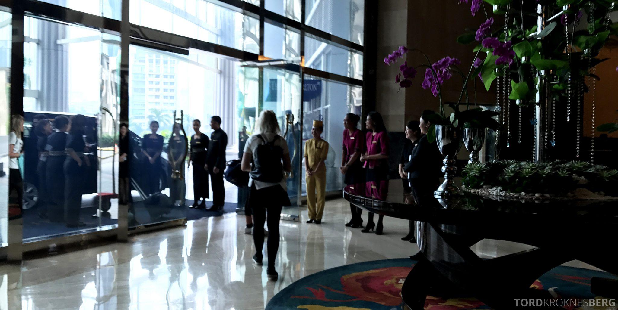 Ritz-Carlton Jakarta avskjed